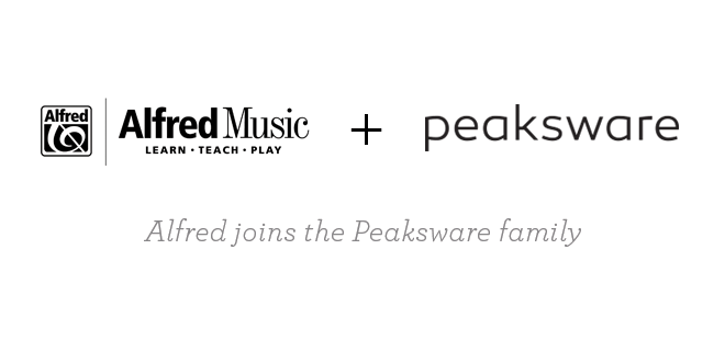 Alfred Joins Peaksware Family